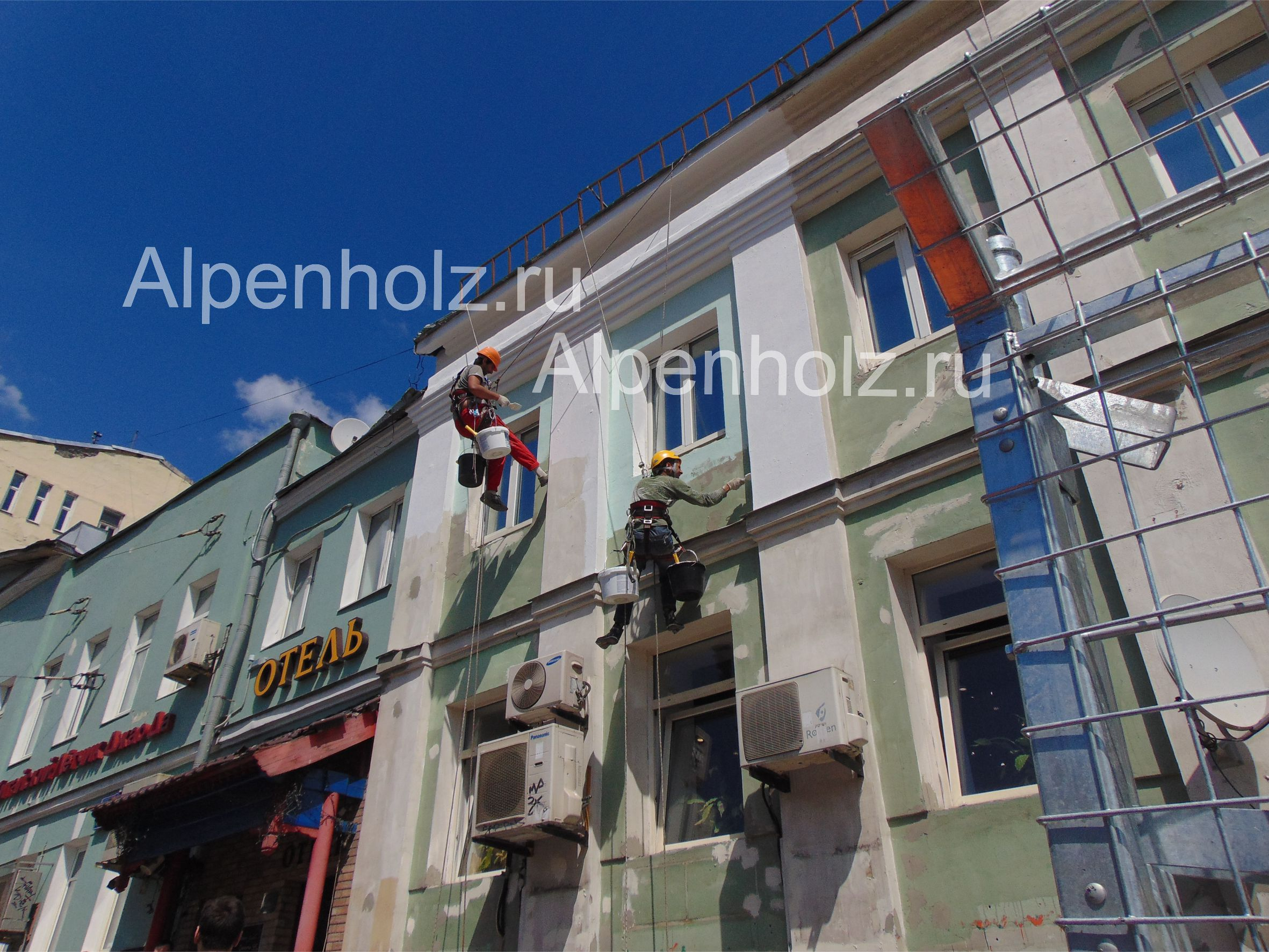 Отделка фасадов имитацией бруса фото
